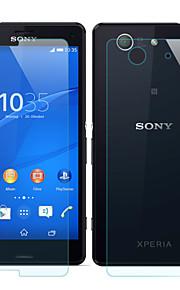 mr.northjoe® edessä&takaisin karkaistua lasia elokuva näytönsuoja Sony Xperia Z3 kompakti / z3 mini