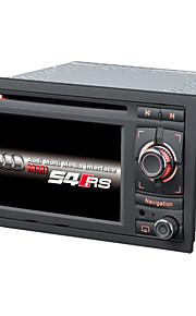 2 din auto dvd-speler autoradio 6.2inch WinCE 6.0 voor a4 met 1.2g cpu GPS-kaart ondersteuning lossess muziek 1080p