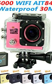 """est sj6000 1080p 2.0 """"cam azione esterna 170 ° ampio angolo di macchina fotografica digitale di sport mini videocamera (colori assortiti)"""