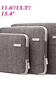 """mode schokbestendig notebook laptop sleeve geval van de dekking voor apple ipad / macbook pro air 11.6 """"/ 13,3"""" / 15,4 """"computer tas"""