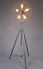 ecolight® 플로어 램프 industiral / 복고 / 참신 / 여관 / 거실 / 연구 / 커피 바 / 금속 + 검은 그림