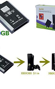 320gb interne hdd harde schijf schijf schijf voor xbox360 xbox 360 es slank