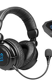 HW-933MI - Hoofdtelefoons - Draadloos 2.4GHz - Hoofdtelefoons (hoofdband) - metmet microfoon/Volume