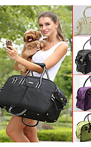 Durable Nylon Marterial with Simple Colors Carrying Bag for Dogs and Cats (Assorted Colors,Assorted Sizes)