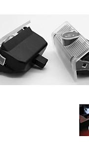 2 stuks auto deur hoffelijkheid projector licht voor mercedes benz a / b klasse glk class logo lamp ghost shadow
