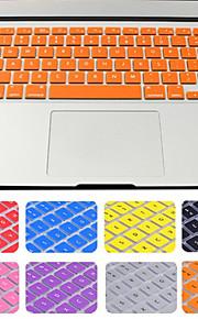 hot selling effen kleur siliconen toetsenbord cover met pakket voor MacBook Air / Pro / retina 13 inch