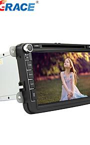 8 tommer - Bil DVD-afspiller - 2 Din - 800 x 480
