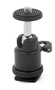 mengs® mini 360 graders roterende kuglehoved for dslr / SLR kamera stativ, LCD-skærm, flash lys beslag etc-21.5