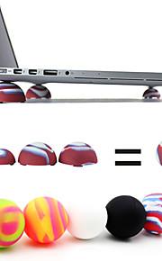 coosbo® super mini warmtereductie stand ballen voor laptop notebook (willekeurige kleur)