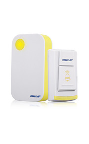 Forecum 36 Music Wireless Doorbell Waterproof Door bell Button Receiver With LED