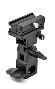 MENGS® Type B Tilting Bracket For Flashes With Universal Hot Shoe