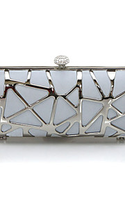 Handbag Silk Evening Handbags/Clutches With Metal Handtaschen