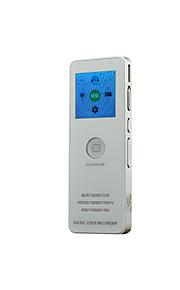 multifunctionele 8gb K5 digitale voice / telphone recorder vor rec fm + timer + mp3-speler