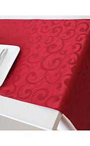 Рождество красный флаг стол бегун стол скатерть промышленное изделие