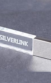 8GB mini metal krystal gave usb pen-drev