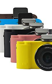 dengpin zachte siliconen armor huid rubber camera cover case tas voor Samsung nx3300 NX3000 (verschillende kleuren)