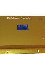 lcd display gsm950 900MHz mobiltelefon signal repeater booster forstærker + os adapter
