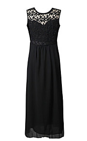 Women's Sexy Casual Party Work Sleeveless Halter Plus Size Evening Dress