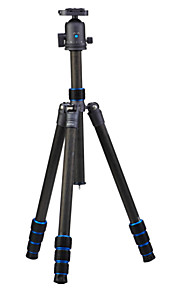 nt-6264ck rejse ren kulfiber dslr digitalt kamera stativ