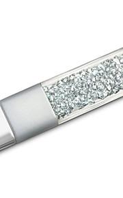 32GB diamant + krystal gave usb-flashdrev