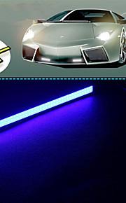 10stk hry® 14cm 600-700lm kørelys blå farve lys cob DRL vandtæt dagslys (12v)
