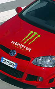 monsterenergy auto sticker auto lichaamsversiering sticker size: 55cm