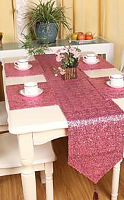"""mode af høj kvalitet paillet bordløber (13 """"x79"""")"""