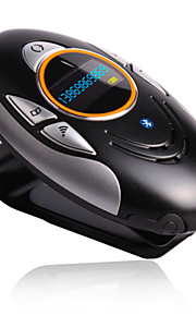 "1 ""scherm bluetooth v2.0 Caller ID + A2DP + oplaadbare auto hands-free speaker"