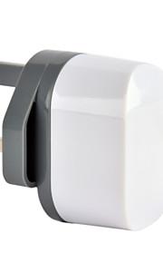 CE Certified Dual USB Wall Charger, UK Plug,5V 2.4A output, for iPhone 5 iPhone 6/Plus, iPad Air, iPad Mini, iPad4