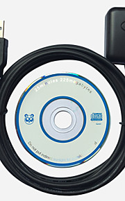USB GPS-ontvanger autonavigatie gmouse ingebouwde module MTK chip 48 kanalen