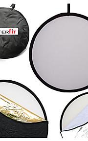 Interfit 110 centimetri 43 pollici 5-in-1 pieghevole multi-disco riflettore di luce