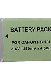 13L 1250mAh camera batterij voor Canon PowerShot G7 x