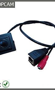 TopCam mini heimelijke 1.0 megapixel ip camera met 3,7 mm pinhole lens 720p p2p camera