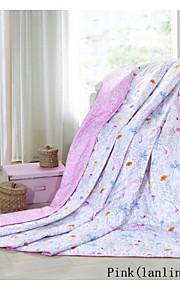 heniemo, 100% bomuld quilt, trykning dyne til sommer, dronning konge størrelse, polyester fyldstof