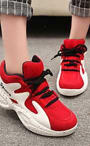 Women's Shoes Patent Leather/Tulle Flat Heel Comfort/Novelty Fashion Sneakers/Athletic Shoes Outdoor/ Career/Casual