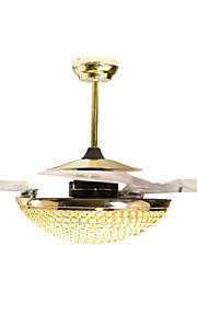 Ljuskronor/Hängande lampor - Living Room/Bedroom/Dining Room/Sovrum - Traditionell/Klassisk - Kristall