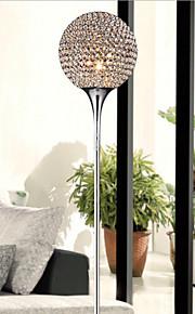 מנורת רצפה יצירתי מודרנית אור רצפת 40W גביש כדורי לשלוח הנורה E27