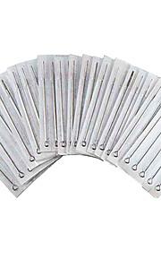 50pcs 11RM Disposable Tattoo Needles Stainless Steel Sterilized Needle Tattoo Tools