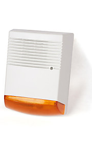 brogen ™ en plein air batterie de la sirène jumeaux de sauvegarde leds factices alternatifs