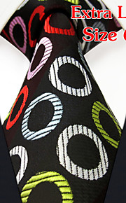Men's Business Multicolor Black Ties