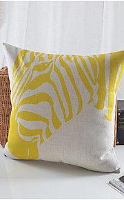 Horse Head Pattern Cotton/Linen Decorative Pillow Cover