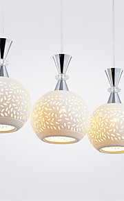 3 Heads Pendant Lights Modern/Contemporary Dining Room/Kitchen Metal