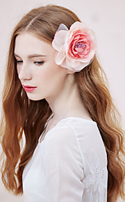 Women's Fabric Headpiece - Wedding/Special Occasion/Casual Flowers 1 Piece