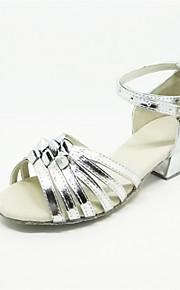 Детская обувь - Атлас - Номера Настраиваемый ( Серебряный ) - Латино