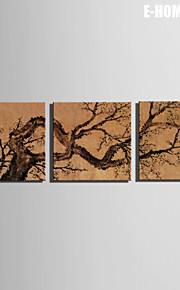 e-Home® venytetty kankaalle art puu koriste maalaus sarja 3