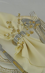 servilleteros ( Oro , Acero Inoxidable/Acero chapado en plata ) - No personalizado
