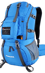 Paquetes de Mochilas de Camping ( Gris/Azul/Verde Claro/Azul Oscuro/Naranja , 45 L) Impermeable/A prueba de lluvia/Listo para