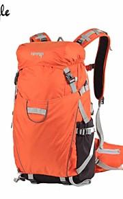 Paquetes de Mochilas de Camping/Bolsos Para Cámaras/Ciclismo Mochila ( Negro/Naranja , 35 L) Impermeable/A prueba de lluvia/Listo para