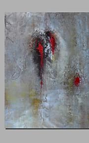 met de hand geschilderd olieverf op doek kunst aan de muur abstracte hedendaagse één paneel klaar te hangen