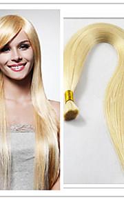 3шт / много бразильских 100% расширений масса волос, девственные масса волос, девственные чистые волосы, девственные человеческого масса